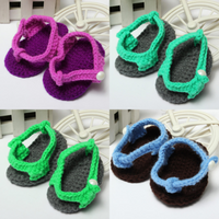 Baby Children Toddler Crochet Handmade Knitted Casual Shoes
