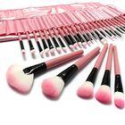 Bon prix LuckyFine 32pcs Makeup Brushes Set Professional Cosmetic Brush Set Pink Eyeshadow Eyebrow Blush