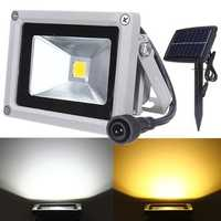10W Solar Power LED Flood Light Waterproof Outdooors Landscape Spot Lightt