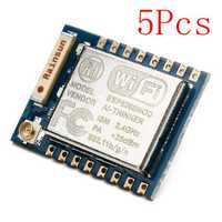 5Pcs ESP8266 ESP-07 Remote Serial Port WIFI Transceiver Wireless Module