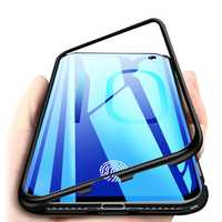Bakeey Magnetic Adsorption Aluminum Tempered Glass Protective Case for Samsung Galaxy S10e/S10/S10 Plus/S10 5G