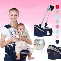 Baby Hip Seat Waist Stool Walkers Travel Carrier Hold Belt