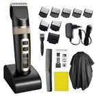 Meilleurs prix Professional Hair Trimmer Electric Hair Clipper For Men Children And Beards Hair Shaving Haircut Cutting Rechargeable Machine