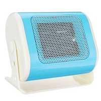 500w Horizontal Mini Heater Electric Heater Small Desktop Heater Winter Warmer Fan Camping Heating Device