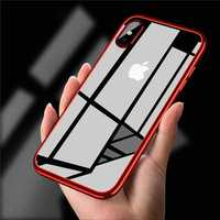Bakeey Clear Plating Soft TPU Protective Case For iPhone X/XR/XS/XS Max