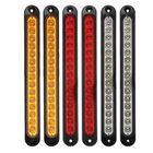 Meilleurs prix 6Pcs 15LED Tail Light Ultra-slim Stop Reverse Turn Signal Lights 10-30V for Trailer Truck Caravan