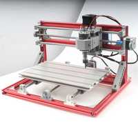 3018 3 Axis Red CNC Wood Engraving Carving PCB Milling Machine Router Engraver GRBLControl