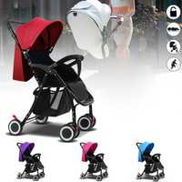Foldable Baby Kids Travel Stroller Newborn Infant Pushchair Buggy Pram Lightweight Baby Carriage