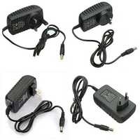 AC 100-240V Converter Adapter 12V 2A 24W Power Supply For LED Strip