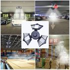 Meilleur prix 60/80/100W LED Garage Lights Deformable Ceiling Fixture Workshop Shop Three-Leaf