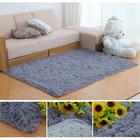 Meilleurs prix 80x160cm Bedroom Living Room Soft Shaggy Anti Slip Carpet Absorbent Mat
