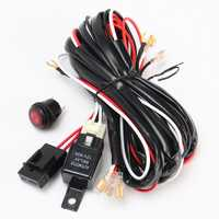 270cm Wiring Harness with ON/OFF Switch 40A 300W Relay Fuse for Off Road LED Light Bar