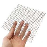 15x15cm Woven Wire Cloth Screen Stainless Steel 304 4 Mesh