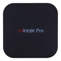 WINTEL W8 PRO Mini PC Intel Z8350 Quad Core 4G RAM 64G ROM 2.4GHz Dual Frequency 5G WIN10