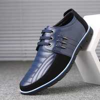 Big Size Men Microfiber Oxfords Shoes