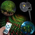 Recommandé LED R&G Remote Garden Waterproof Snow Laser Projector Landscape Stage Lighting
