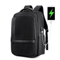 ARCTIC HUNTER B00120 18 Inch Laptop Bag Mens USB Charging Waterproof Backpacks Multifunction Large Capacity Travel Bagpack Men's Shoulder Bag School Bag