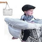 Prix de gros Baby Kids Shopping Cart Cushion Kids Trolley Pad Baby Shopping Push Cart Protection Cover Baby Chair Seat Mat with Safety Belt
