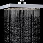 Meilleurs prix KCASA KC-SH604 Top Spray Thickened Pressurized Rotatable Rainfall Shower Head Square Stainless Steel Top Spray Head