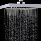 Bon prix KCASA KC-SH604 Top Spray Thickened Pressurized Rotatable Rainfall Shower Head Square Stainless Steel Top Spray Head