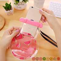 Universal PVC Fruit Shape IPX8 Waterproof Phone Case Under Water Dry Bag for iPhone Samsung Xiaomi