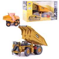 Classic Vintage Alloy Mining Excavator Truck 20CM Dumper Metal Diecast Model Vehicle Toys