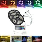 Prix de gros 15M SMD5050 Waterproof RGB 450 LED Strip Tape Light Kit + 44 Keys Controller + Cable Connector DC12V