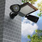 Meilleurs prix Solar Powered 76 LED Triple Head PIR Motion Sensor Flood Light Spotlight Outdoor Garden Lamp