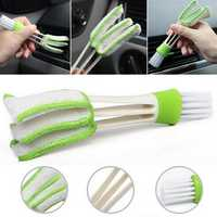 Car Brush Interior Cleaning Tools Air Conditioning Outlet Keyboard Dead Angle Gap Cleaning Brushes