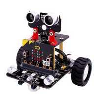 Micro:bit STEM Smart Programmable Educational Robot Car Kit With Development Board