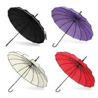 Vintage Pagoda Parasol Bridal Wedding Party Sun Rain UV Rain Umbrella