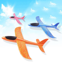 EPP Foam Hand Throw Airplane Launch Glider Plane Outdoor Kids Toy Convolution