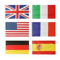 Honana HG-DF1 Gardening 3x5 Foot Nylon National Flags Outdoor Polyester Flags Gardening Decor