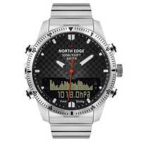 NORTH EDGE Digital 50M Dive Watches Men Altimeter Watch