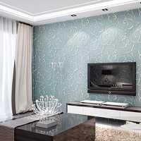 3D Multicolor Modern Flower Textured Wallpaper Simple Embossed Wallpaper