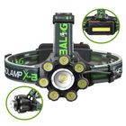 Meilleurs prix XANES BL-T88-B6 3350LM T6-7XPE 6 Modes Telescopic Zoom Cycling Hunting Camping Outdoor LED Headlamp USB Charging Interface