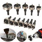 Acheter 12pcs 15-50mm HSS Hole Saw Cutter HSS Drill Bits Set