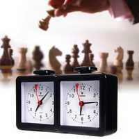 Quarz Analog Chess Clock Count Up Down Timer Stopwatch For Game Competition