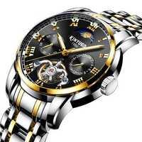 KINYUED JYD-J028 All Steel Band Automatic Mechanical Watch