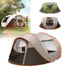 Meilleurs prix 5-8 Person Automatic Camping Tent Windproof Waterproof 2 Large Mesh Windows Family Tent Sunshade Canopy for All Seasons