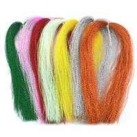 ZANLURE 150PCS 18Colors Lure Tying Making With Crystal Flash Fly Tying Material