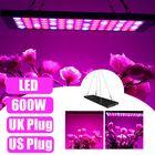 Les plus populaires 600W LED Grow Light Hydroponic Full Spectrum Indoor Plant Veg Flower Panel Lamp AC85-265V