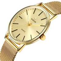 WWOOR 8832 Casual Style Full Steel Luminous Men Wrist Watch