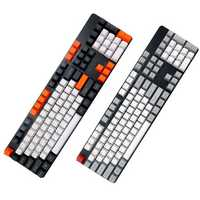 104 Key OEM Profile PBT Thicken Keycaps Keycap Set for Mechanical Keyboard