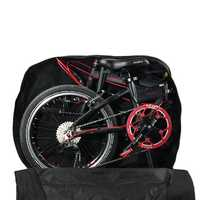 RHINOWALK Portable Folding Bike Bicycle Carrier Carry Packing Storage Bag Cover