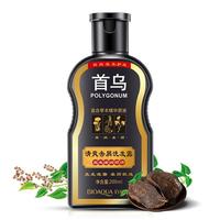 BIOAQUA Herbal Fallopia Multiflora Hair Shampoo Anti Dandruff Nourishing Fresh Cleansing Oil Control