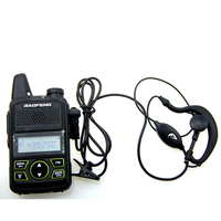 1 Walkie Talkie Headset Earphone Line Single Y Head For Baofeng T1 UV-3R U8 U3