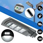 Acheter au meilleur prix 60W 120 LED Solar Radar Motion Activated Sensor Wall Street Light for Outdoor