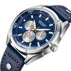Meilleur prix MEGIR ML2072G Luminous Calendar Men Leather Quartz Watch