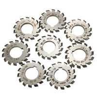 Module 1.25 PA20 #1-8 HSS Bore 22mm Involute Gear Milling Cutter